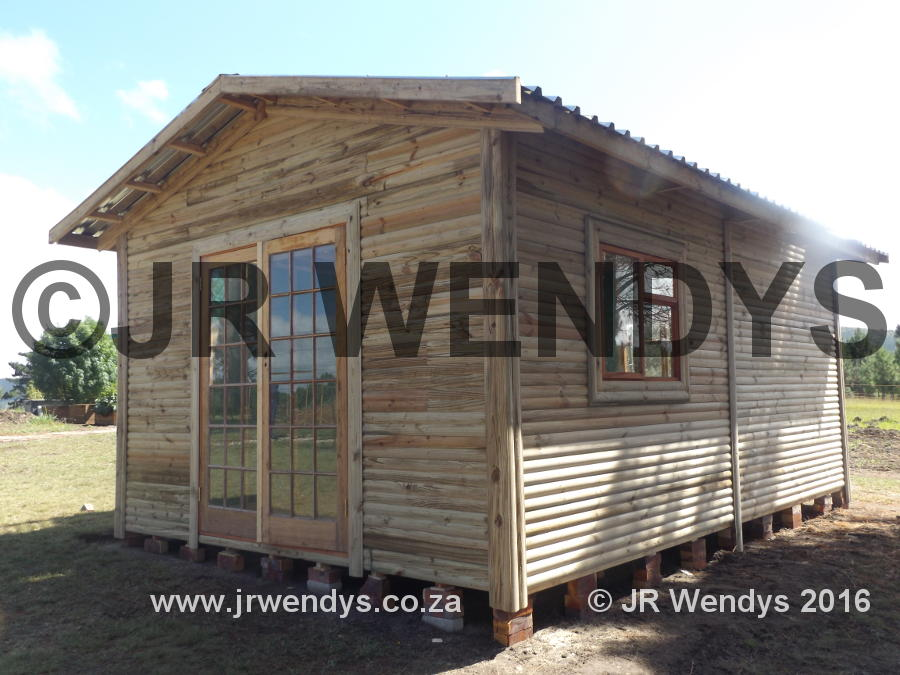 Wendy house Log home 4 x 6m