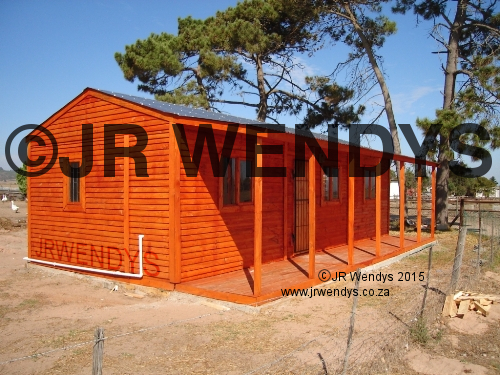 Wendy House overlap boards 6x9m